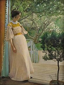 'The Artist's Wife', L. A. Ring (Laurits Andersen Ring)
